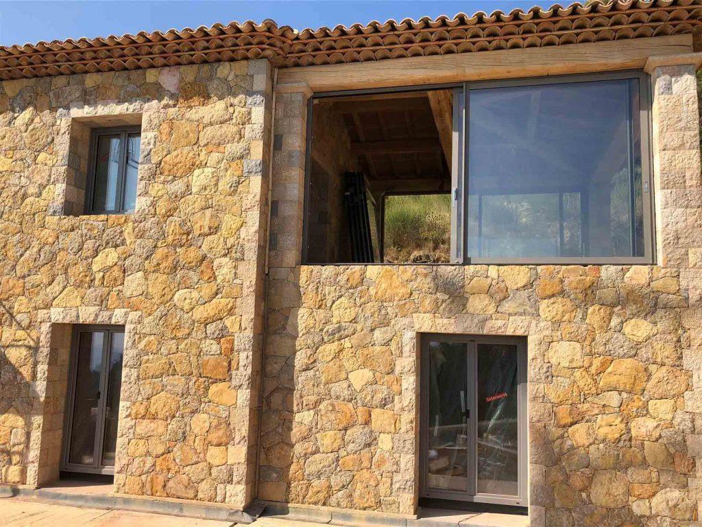 Fenêtre en aluminium pour maison