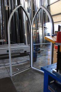 fenêtre cathédrale aluminium